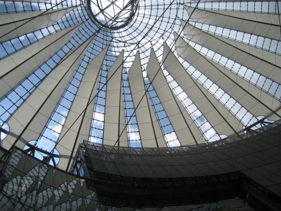 Architektur im Sony_Center