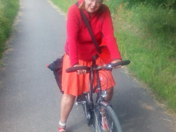 Mit dem Fahrrad Frankfurt-Berlin :)