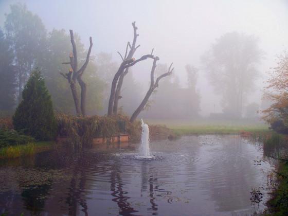 Herbst im Kurpark Bad Klosterlausnitz