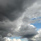 tief in den Wolken