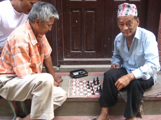 Schach auf der Strasse