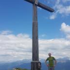 Meine Wanderung zum Lungkofel 2282 Meter hoch.