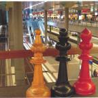 """Schachfestival """"Zug um Zug"""" im Berliner Hauptbahnhof"""
