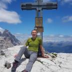 Oberbacherspitze (Dolomiten) 2677 Meter Hoch.