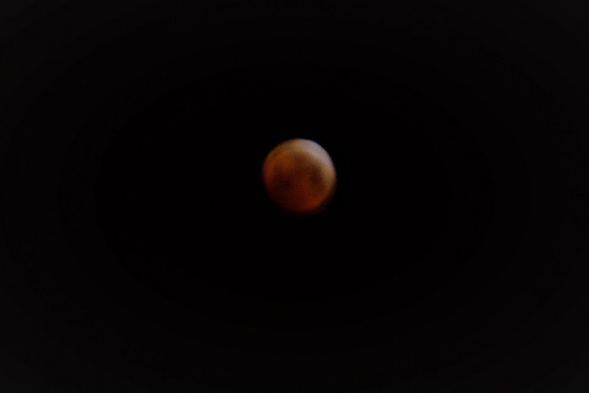 Mondfinsternis 4 Blutmond
