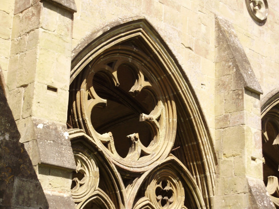 aus der Kathedrale von Salisbury (England)
