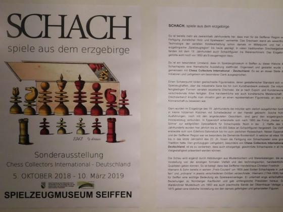 Sonderausstellung Schachspiele